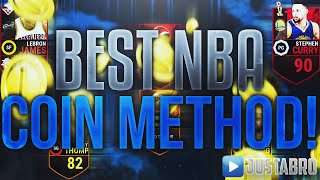 BEST NBA Live Mobile Coin Making Method! Immediate Profit!