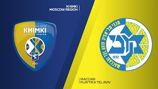 Khimki Moscow Region- Maccabi Playtika Tel Aviv Highlights | Turkish Airlines EuroLeague, RS Round 5