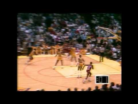 Ralph Sampson Shocks the Lakers with the Game Winner