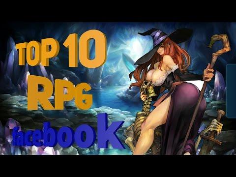TOP 10 RPG GAMES Os Melhores Jogos MMO no facebook