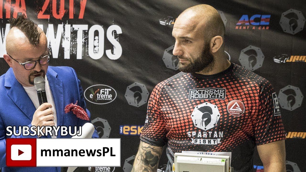 Spartan Fight 8: Maciej Browarski o motywacji po kilkukrotnej zmianie rywali