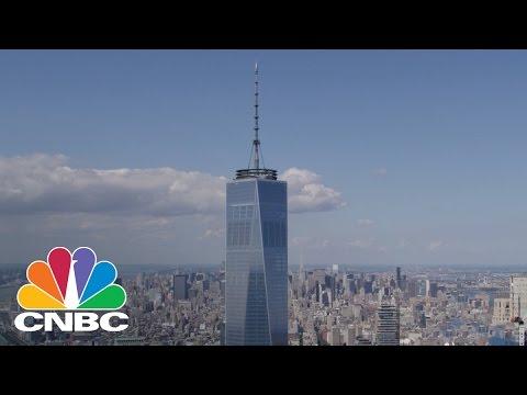 Two Men Climb One World Trade Center
