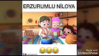 niloya erzurum dubljı / komik videolar