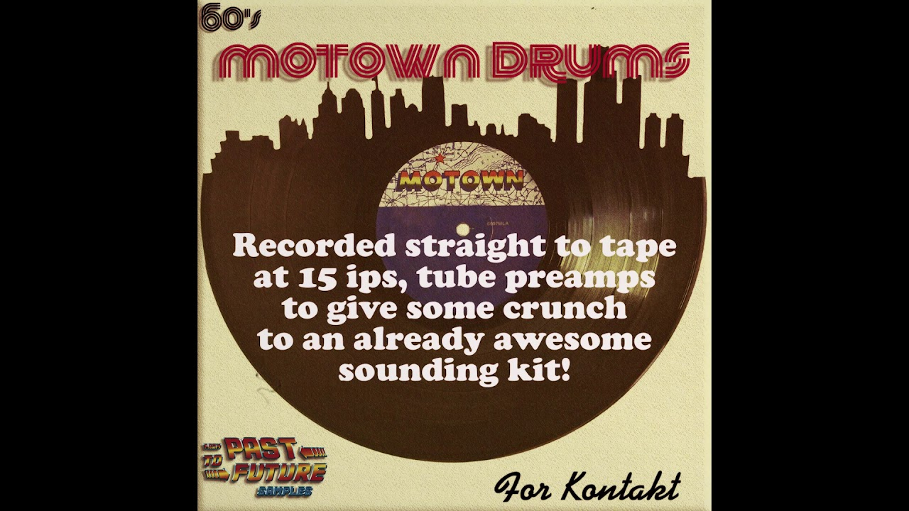 Past To Future Samples Releases 60's Motown Drums!