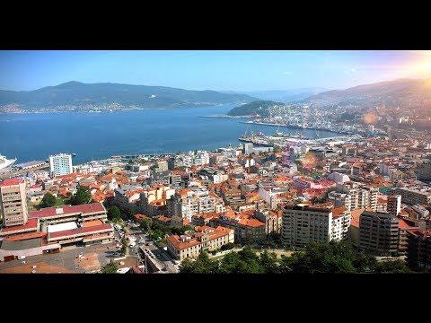VIGO Spain 4K Drone Footage DJI Mavic 2 Pro