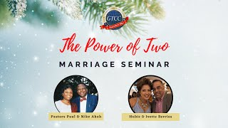 The Power of Two: Communication in Marriage