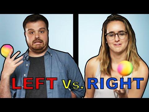 Left-Handers Vs Right-Handers: Who's Better?