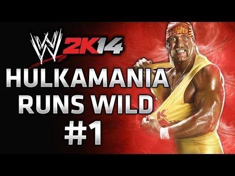 WWE 2K14 30 Years of Wrestlemania - Hulkamania Runs Wild Gameplay Walkthrough Part 1