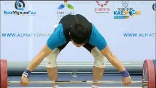 Чемпионат мира по тяжелой атлетике: Бекзат Осмоналиев (Кыргызстан)