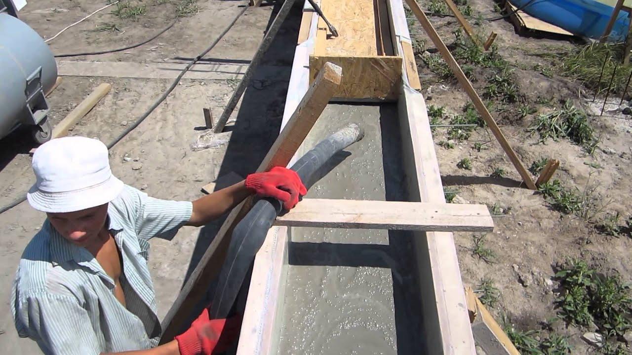 Строим монолитный дом своими руками видео