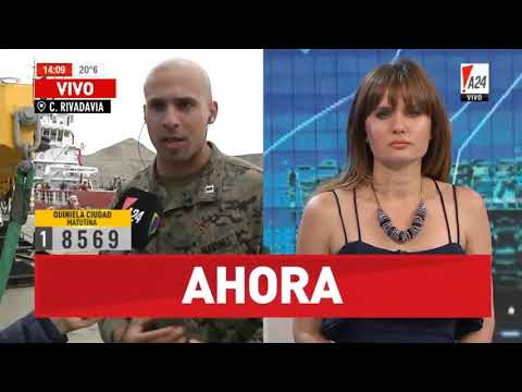 Capitán Héctor Alejandro U.S Marine EE.UU búsqueda submarino ARA San Juan