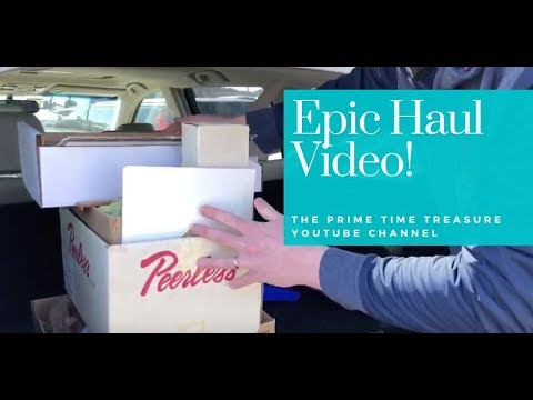 EPIC HAUL VIDEO from the New York State Fairgrounds and 2 Estate Sales