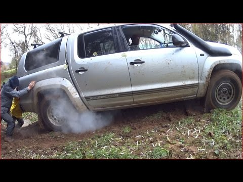 VW Amarok 2.0 BiTDI 180PS stuck Offroad/Tunnel