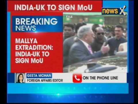 Vijay Mallya case: India and UK to sign MoU
