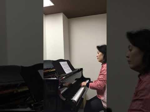 A.Grechaninov Op.98 Children's Book No.2 Tinsoldiers in Camp Hiroshima piano vocal bodywork Consolo