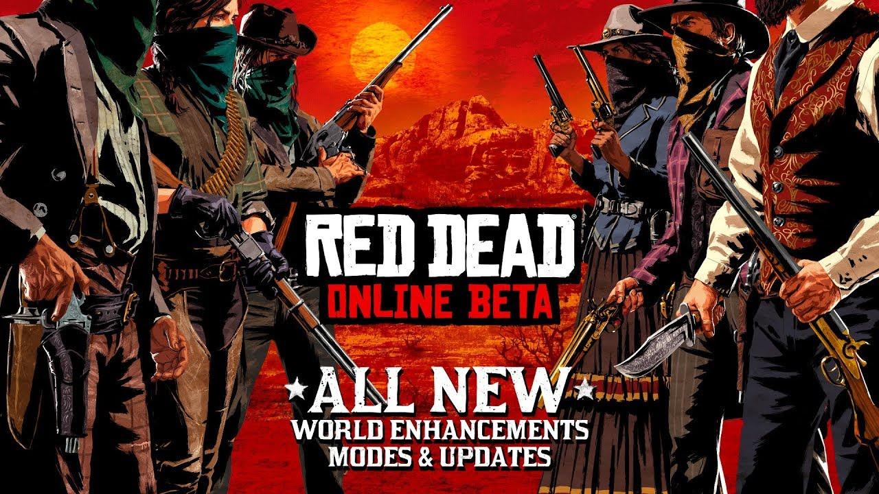 0768b9fc3cf074 Red Dead Online Beta Update - YouTube