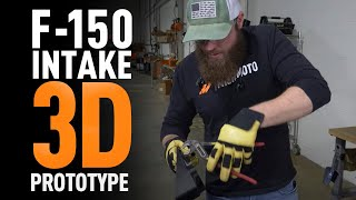 homepage tile video photo for Ford F-150 - Developing a 3D Intake Prototype