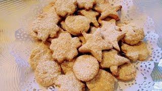Постная  выпечка - Имбирное печенье с мёдом и лимоном .