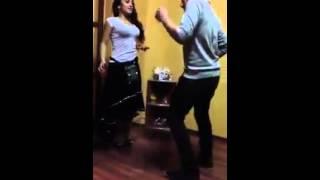 farzana naz  Dance with young boy