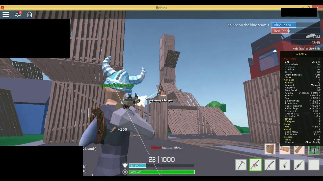 Strucid Rcm Gameplay Roblox Youtube