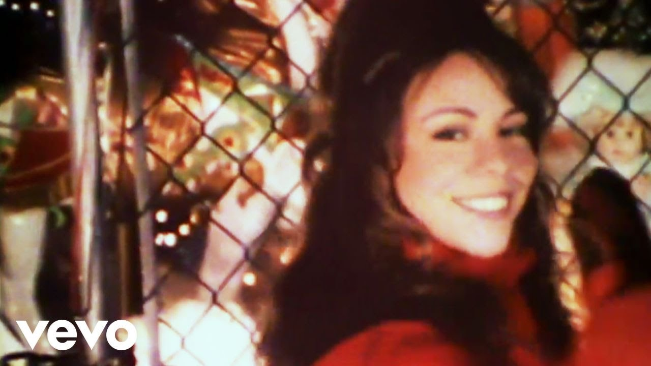 Youtube Mariah Carey Christmas.Mariah Carey All I Want For Christmas Is You