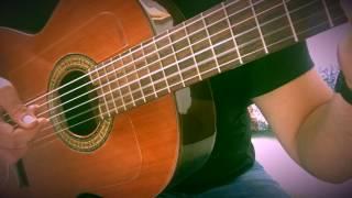 غيتار تعليم جيتار (راح انساكي ) محمد باش guitar finger style