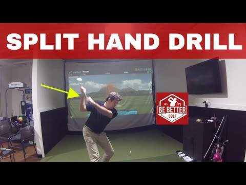 GOLF SPLIT HAND GRIP DRILL W/ BERTIE CORDLE