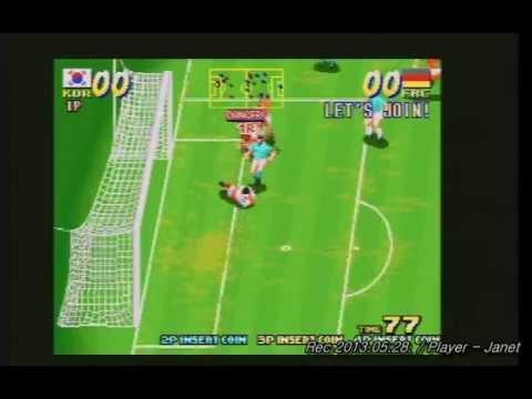 Seibu cup soccer 1CC - Team Korea (Not MAME)
