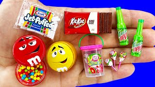 16 DIY MINIATURE FOOD AND DRINKS REALISTIC HACKS AND CRAFTS !!!