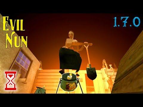 Применяю горшочек сразу в двух концовках Монахини | Evil Nun 1.7.0