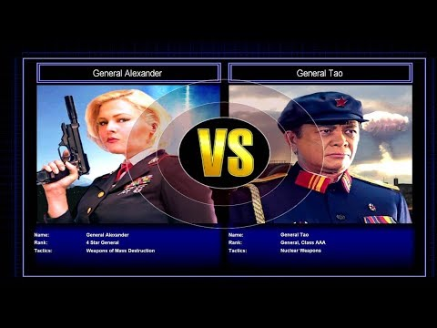 Generals Challenge: Superweapon vs. Nuclear | Let's Play Command & Conquer: Generals - Zero Hour