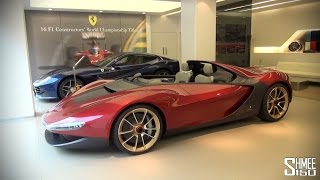 Sergio by Pininfarina - Six Models Based on Ferrari 458