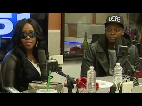 Remy Ma & Papoose Interview with Angie Martinez Power 105.1