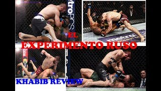 El Experimento Ruso ☣  Khabib Nurmagomedov 🔥 Fighter Review