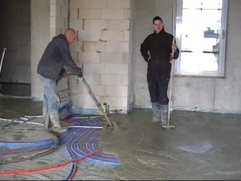 Bremat S Series Fully Automated Liquid Screed Installation