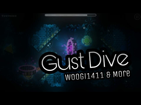 Geometry Dash - Gust Dive (My New MegaCollab Level!)