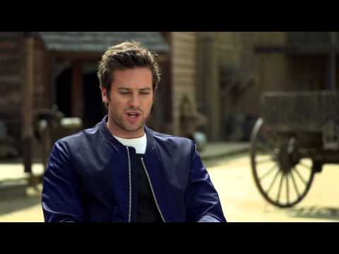 Armie Hammer's Official 'The Lone Ranger' Interview - Celebs.com