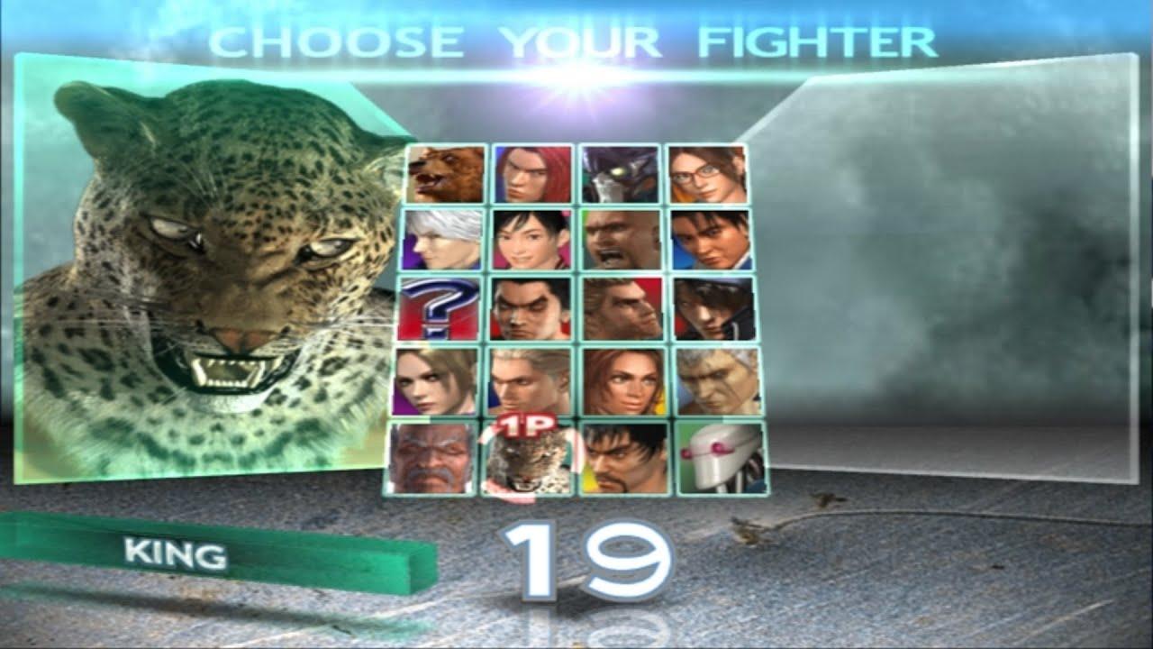 Tekken 4 King Playthrough Ps2 Youtube
