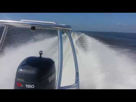 Martinez Bay Stealth 2180 150 Yamaha SWSII