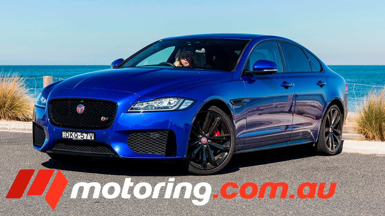 2017 jaguar xf s 30d review - youtube