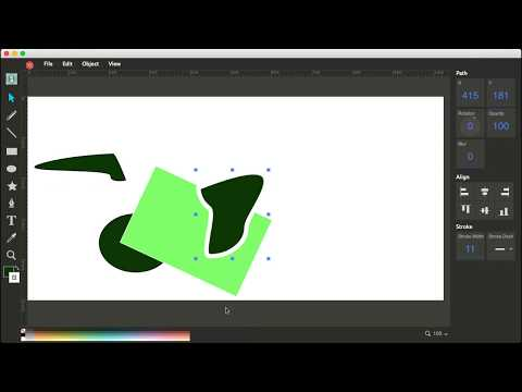 UlmDraw - Vector or SVG Paint/Editor