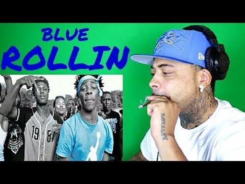 Blue Rollin  Blue Flaggin Intro REACTION