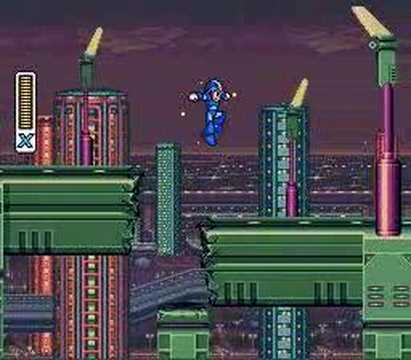 Mega Man X - Full Intro and First Stage