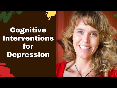 Cognitive Behavioral Therapy (CBT) Interventions For Depression Treatment And Mental Health