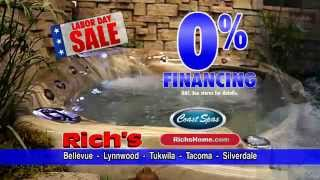 Rich's Labor Day Sale - Save On Spas, Patio Furniture, Fireplaces
