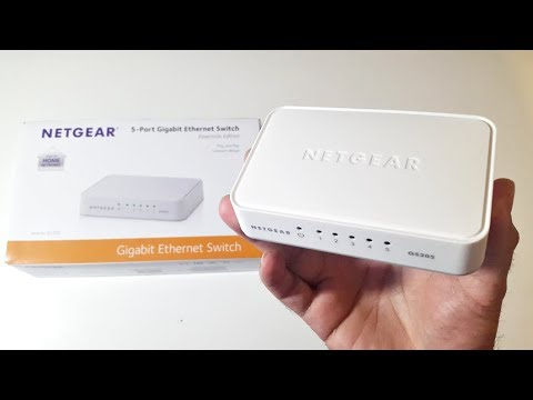 What is an Ethernet Switch and How to setup? NETGEAR 5 Port GIGABIT Ethernet Switch