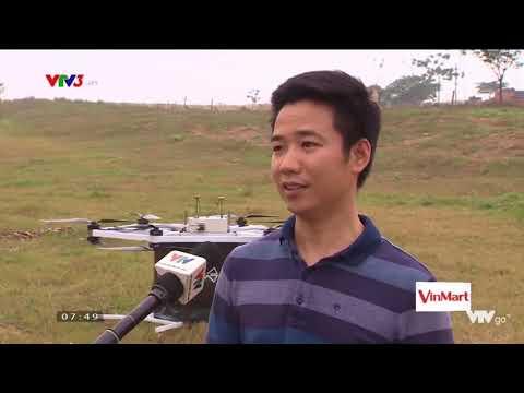 Người Việt chế tạo thành công máy bay điện tự lái