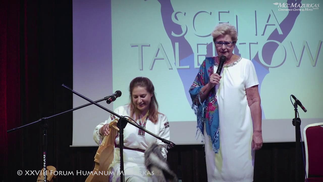 XXVIII FHMazurkas - Scena Talentow - Irena Bartkowska przedstawia Karolinę Matuszewską