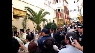 Святитель Спиридон Тримифунский.  4-11-2012. Корфу. Греция.(, 2012-11-12T21:24:51.000Z)