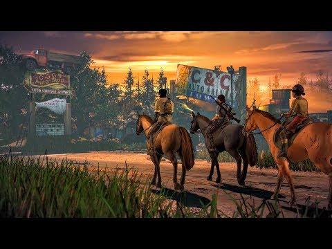 Javier Saves Wounded Kate on Horseback. Mariana Dies   Eleanor (Walking Dead   Telltale Games)